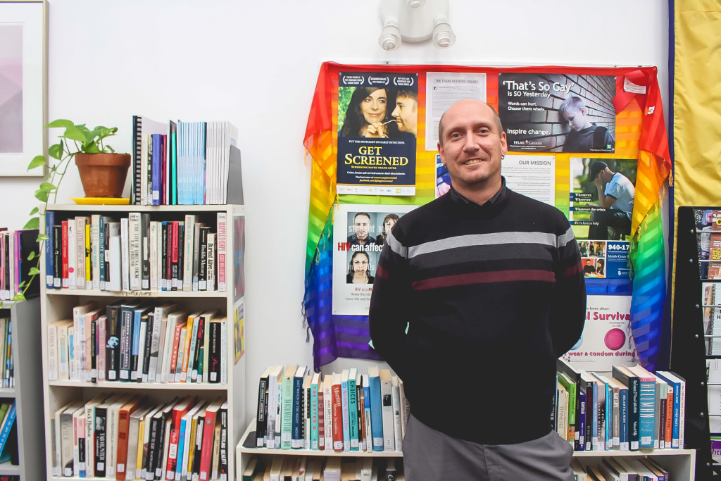 President of Reel Pride's volunteer board, Jason Van Rooy said he's been a part of the queer media arts event for 22 years. THE PROJECTOR/Joy K. Balmana