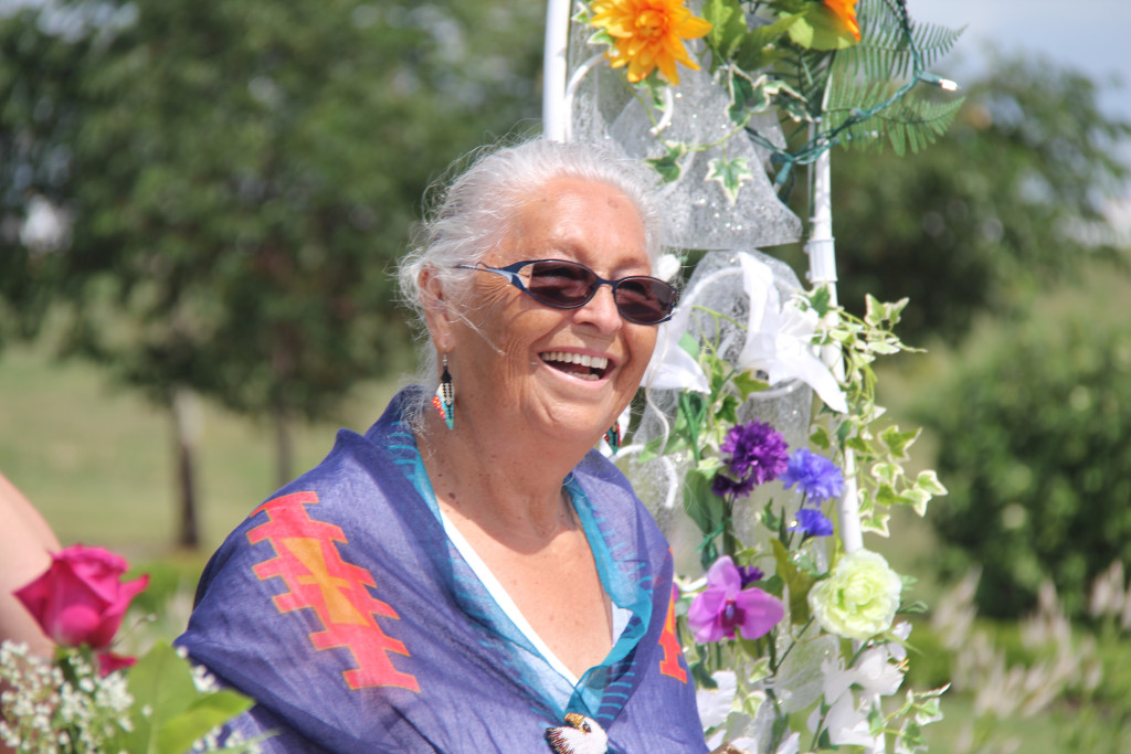 Elder Mae Louise Campbell was the only manitoban to win an Indspire Award this year. SUPPLIED