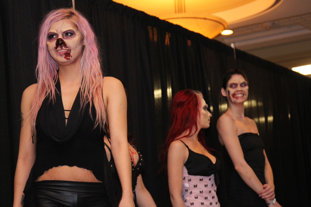 One of the events of the weekend included an Adam & Eve Zombie Fashion Show. THE PROJECTOR/ Rachel Carlson