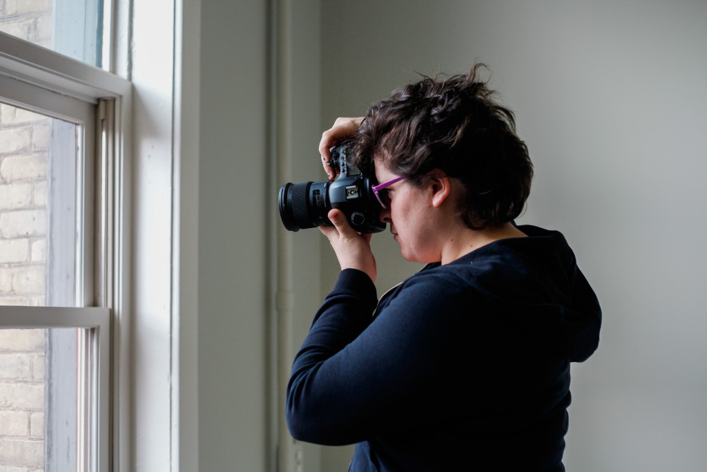 It's been less than two years, but Hofford's photo shoots have created a body-positive movement among women of all ages in the city. THE PROJECTOR/ Laurie Brand
