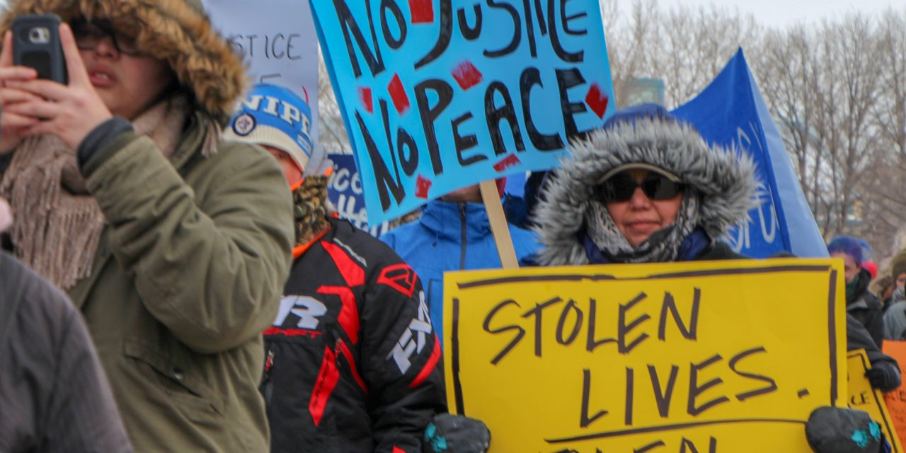 Boushie protests hit home