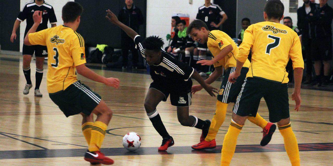 Men's Futsal team battling for playoff spot
