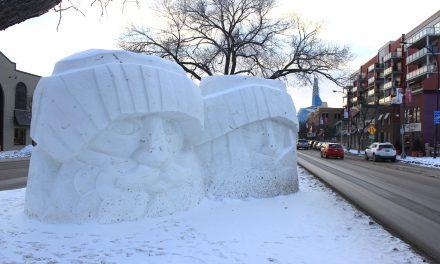 Winnipeg's coolest (snow) sculptures