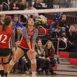Rebels defeated in women's volleyball semi-finals