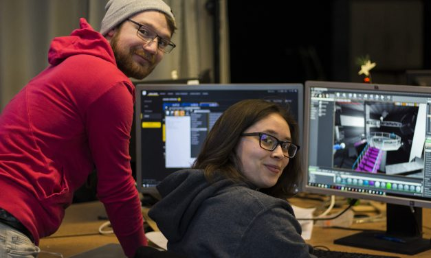 RRC students creating virtual reality escape rooms in collaborative project