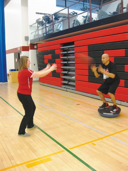Athletic therapy on campus