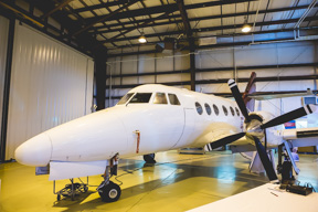 A British Aerospace Model Jetstream 31 along with associated equipment, manuals and training aids was donated to Stevenson Campus by the Swanberg family. The donation is valued at $1 milion. SUPPLIED