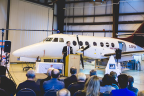 Wth the new donation, students in aviation programs will have more opportunities to work on industry standard equipment before they even graduate. SUPPLIED