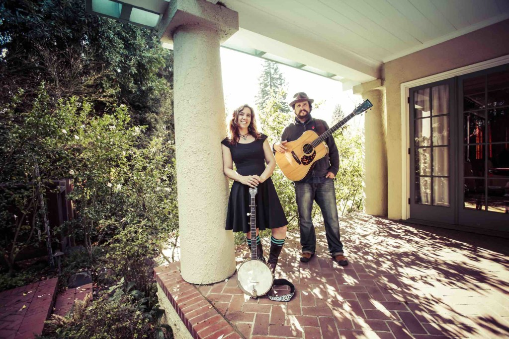 Cara Luft and JD Edwards make up folk group The Small Glories. The group just released their first album called Wondrous Traveler. SUPPLIED/ Stefanie Atkinson
