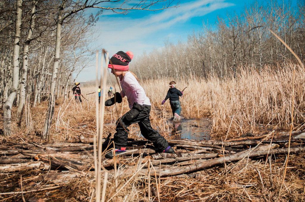 FortWhyte Alive announced a pilot project to start in the fall where families can sign up their children for forest school. Right now, Seven Oaks Child Day Care Centre is the only facility participating in forest school. SUPPLIED/ Brigitte Insull