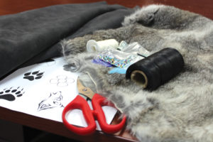Supplies for making moccasin and mukluks include fur and beads. THE PROJECTOR/ Shondell Babb