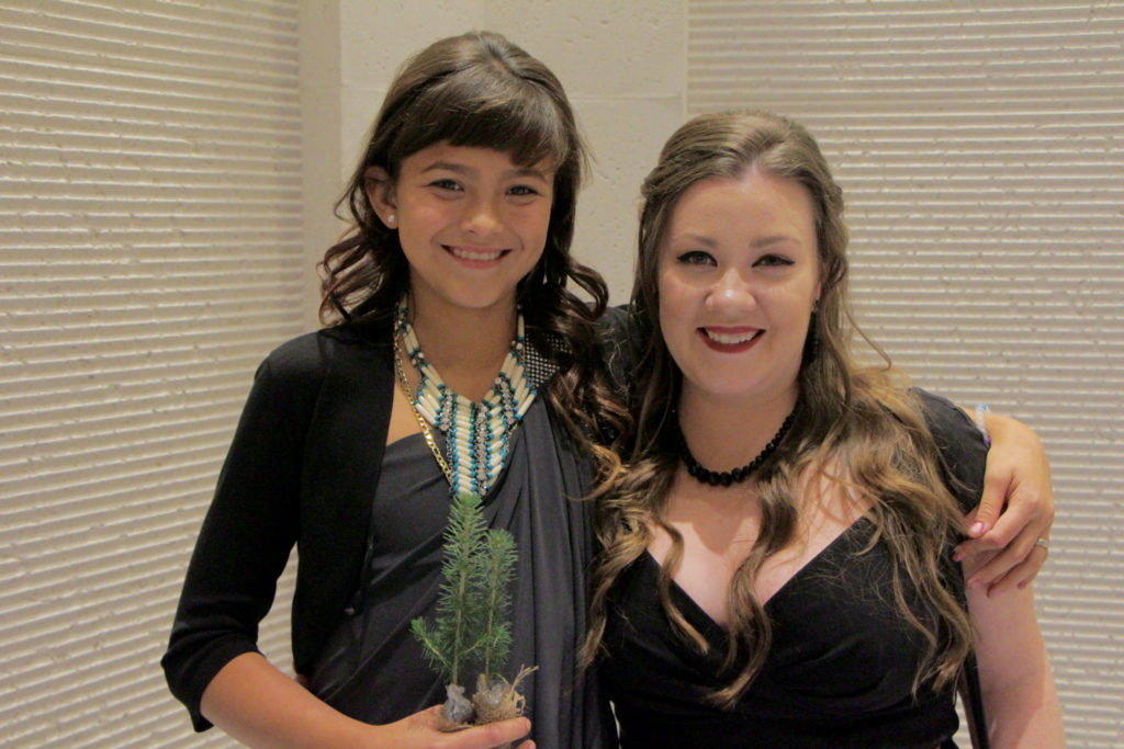 Red River College Professional Photography student, Samantha Lussier, was honoured at the 2016 Our Manitoba Heroes gala at the Club Regent Event Centre. The annual event recognizes five Manitobans for their courage and compassion. THE PROJECTOR/ Cody Zaporzan