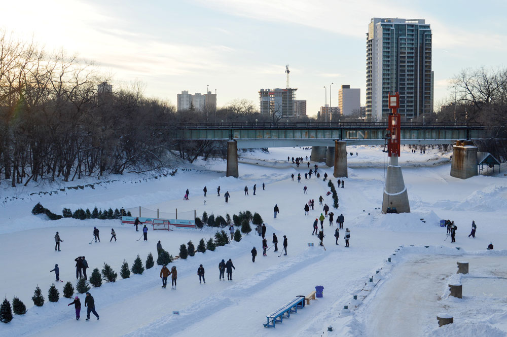 Winter woes won't stop students