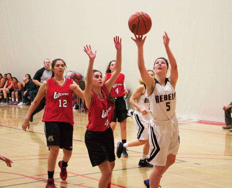 Rebels women's basketball wins big