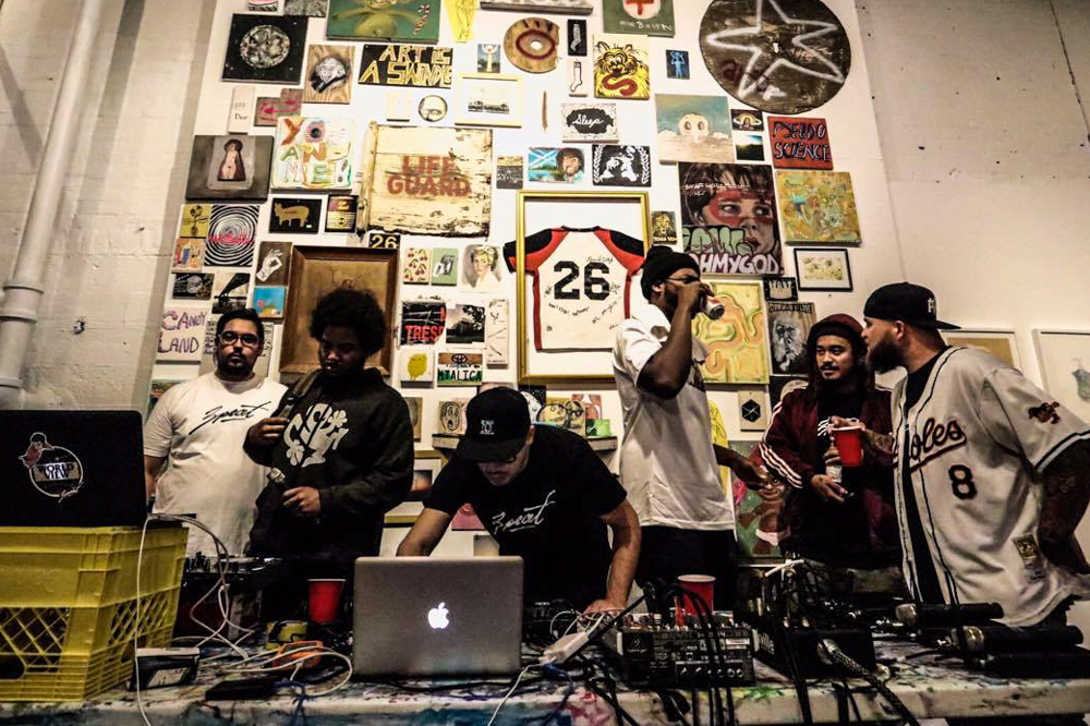 Anthony Carvalho after 3Peat's performance at the Graffiti Art Gallery. PHOTO FROM TOMMY ILLFIGER