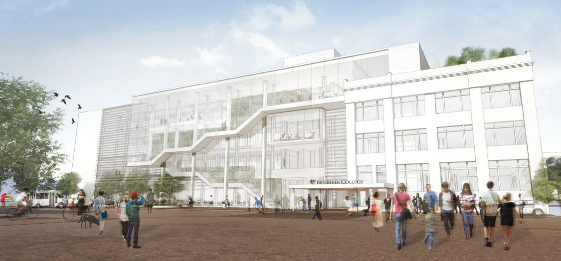 Innovation Centre in the works at RRC Exchange District campus