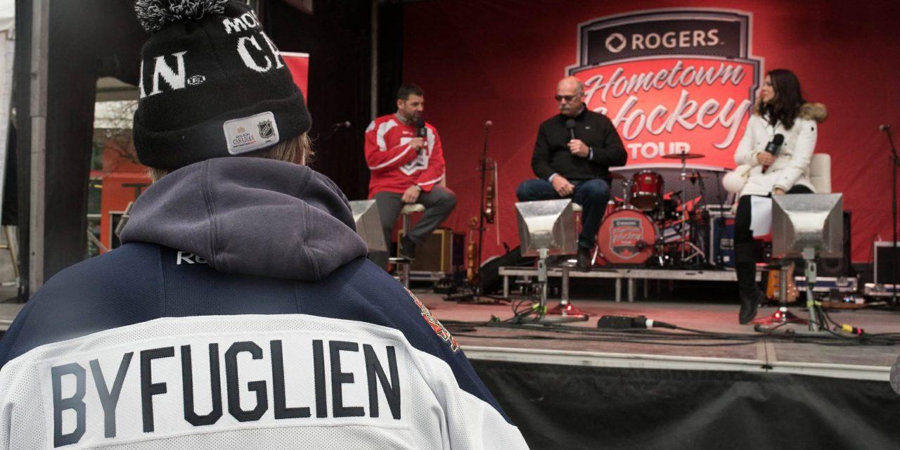 Rogers Hometown Hockey tour skates into Winnipeg
