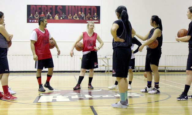 Women's Rebels basketball team in new league — more competitive: coach