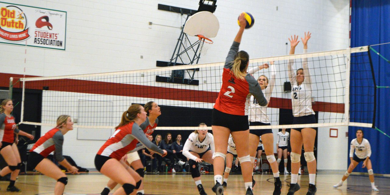 Volleyball team begins an undefeated season
