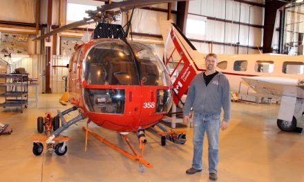 Get in The Chopper: Coast Guard Helicopter Lands New Life at Red River College