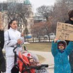Protest Against Youth Homelessness