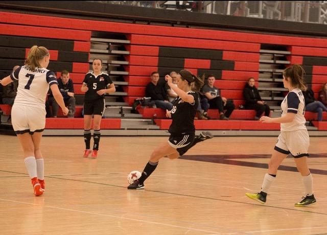 First-Year Rebels Women's Futsal Player Wins MCAC MVP