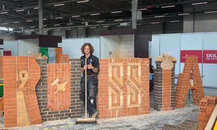RRC masonry student competes at WorldSkills Competition in late August