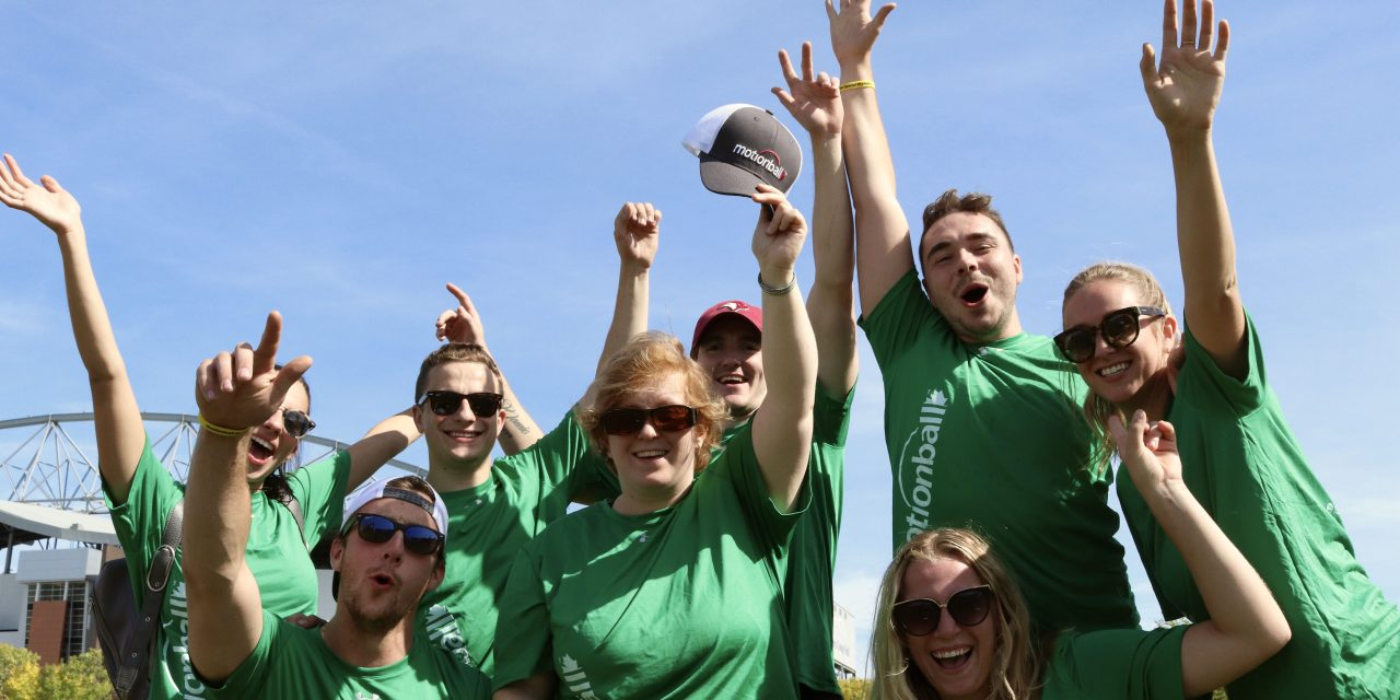 Seventh Annual motionball event, raises money for Special Olympics Canada Foundation