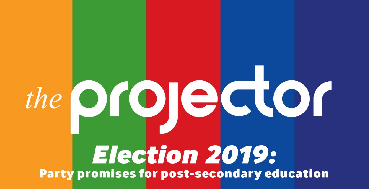 Election 2019: Party promises for post-secondary education.