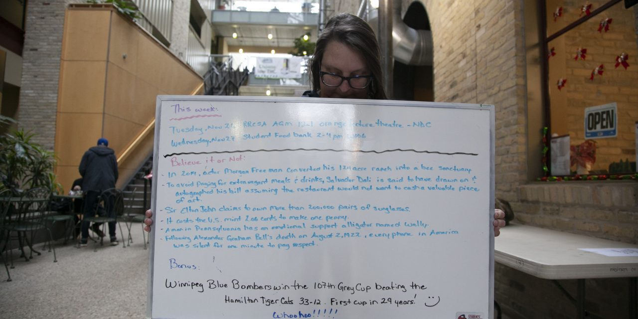 The RRCSA Whiteboard—a treasure trove of fun facts