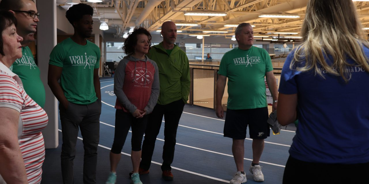 Sport Manitoba Hosts Third Walk with a Doc