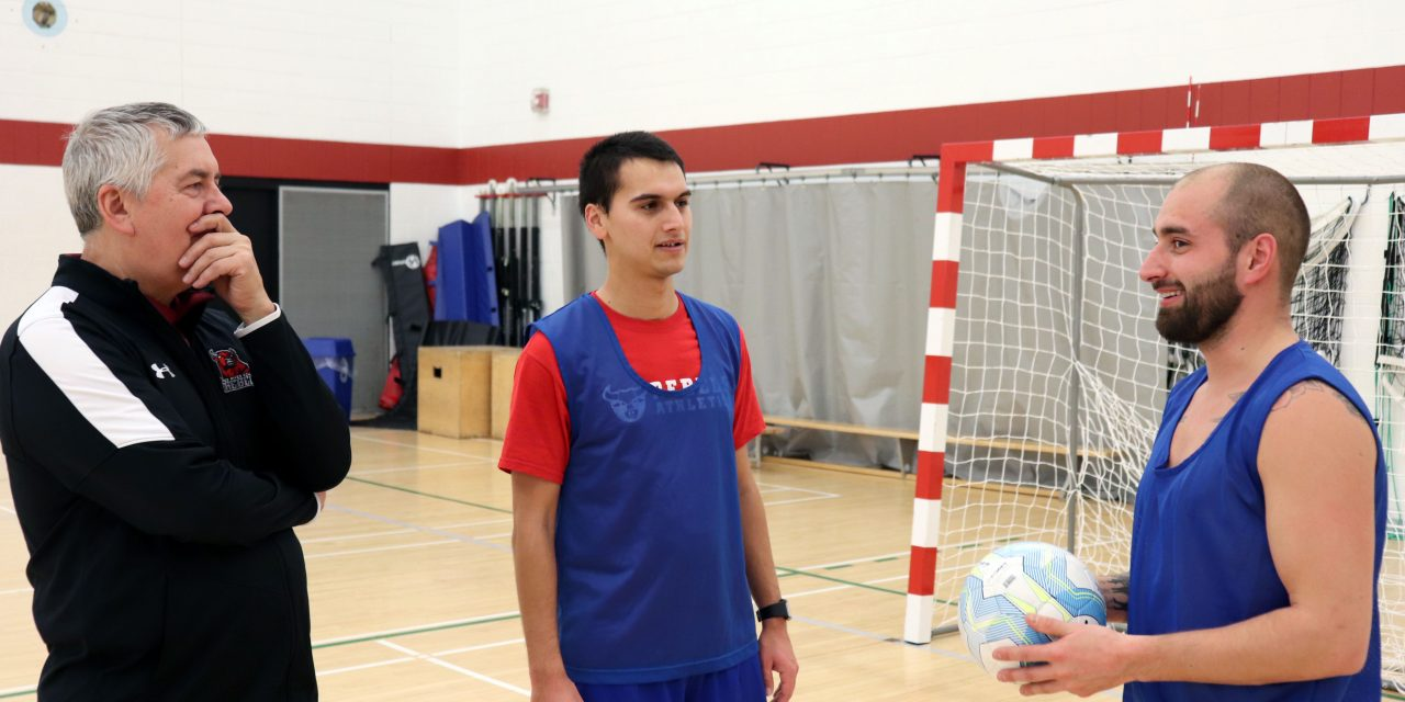Rebels Men's Futsal Team Aims for Playoffs