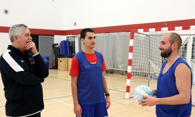 Rebels Men's Futsal Team Aims for Playoffs