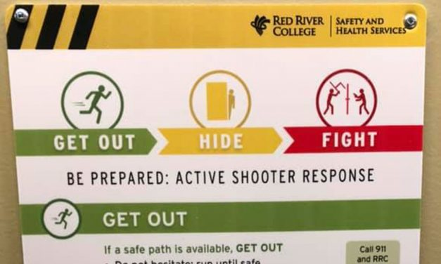 New Active Shooter Response signs triggering for some students