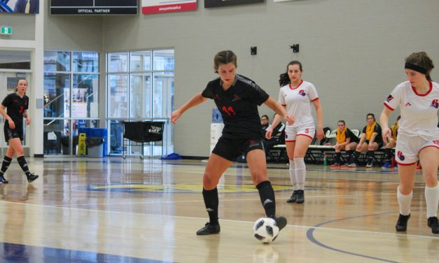 Highlights from RRC's women's futsal final loss