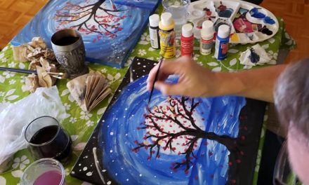 Paint Night Goes OnlinE