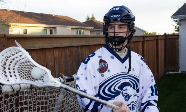 """""""It has been a medicine game"""": Young Athletes Turning To Lacrosse For Stress Relief"""